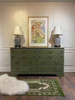 Olive Tone Dresser