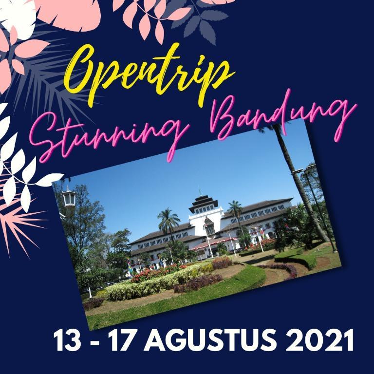 Paket Tour Bandung 13 - 17 Agustus 2021 Opentrip Tour Terbuka Untuk Umum