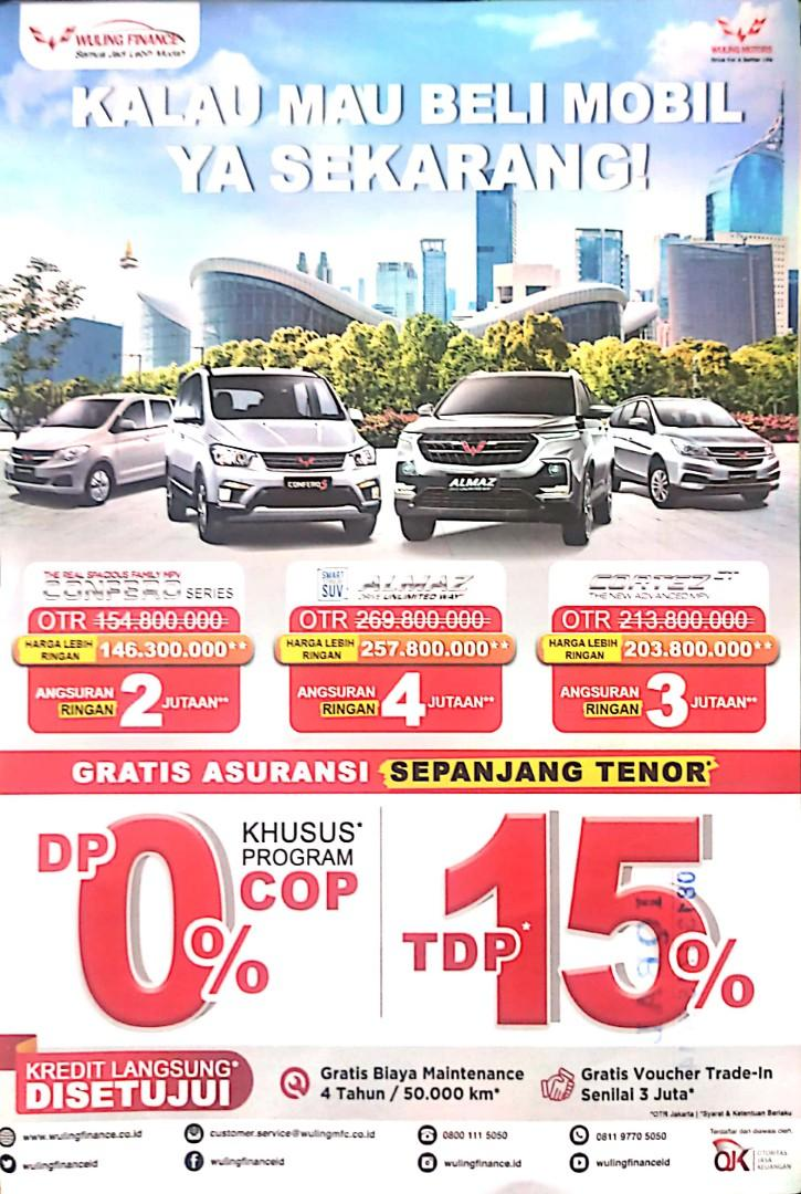 promo mobil wuling