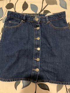 Rok Jeans bershka