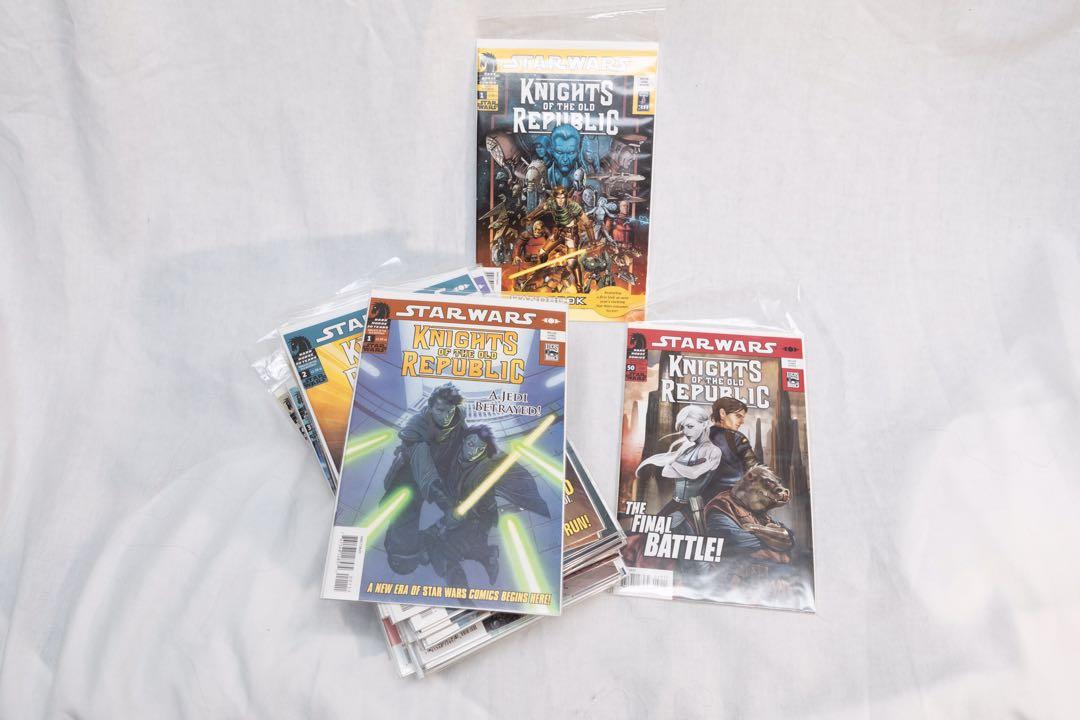 Star Wars: Knights of the Old Republic Comic Books