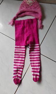 Topi & Legging pink