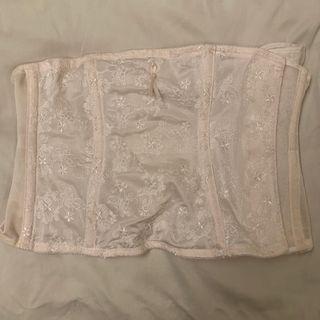 Wacoal light pink girdle corset 女裝淺粉紅色修身腰封
