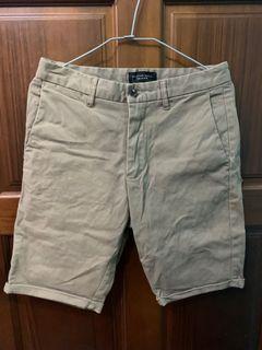 卡其色 米色 短褲 工裝褲