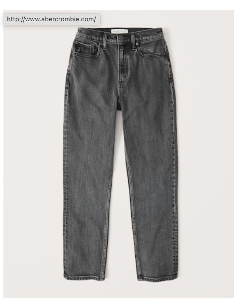 Abercrombie & Fitch High Rise Mom Jeans