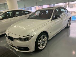 BMW 330e Saloon Sport 2018(MINERAL WHITE) Auto