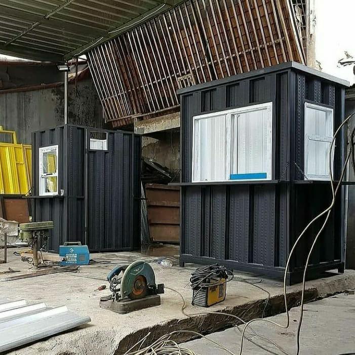 Booth Semi Container Gerobak Usaha Kekinian !
