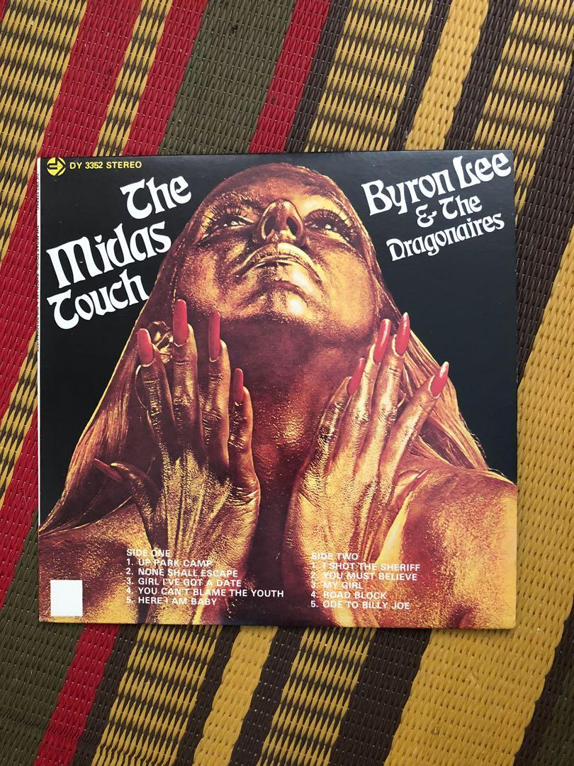 Byron Lee and the Dragonaires the Midas touch reggae vinyl LP record