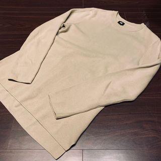 H&M 開衩設計長袖上衣 保證正品