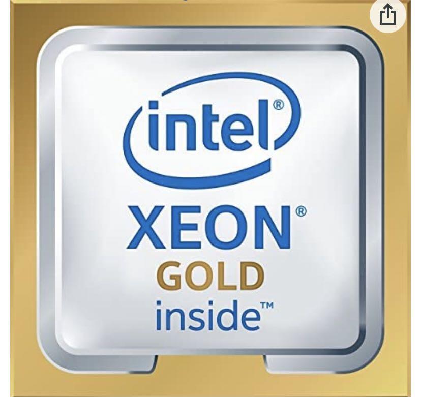 🔥降🔥Intel Xeon Gold, 12C CPU