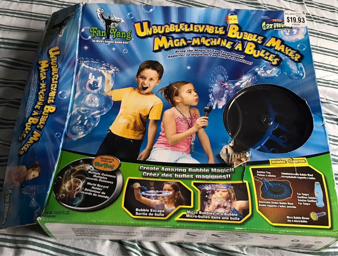 Kids bubble maker