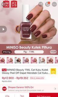 Kutek Peel Off Miniso