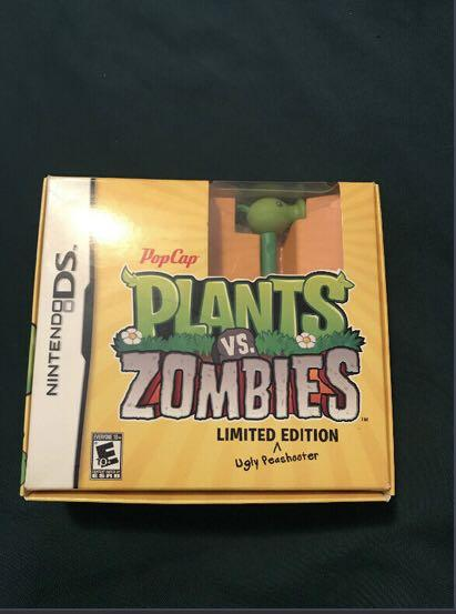 Limited edition – Plants vs Zombies Nintendo DS Game - OBO