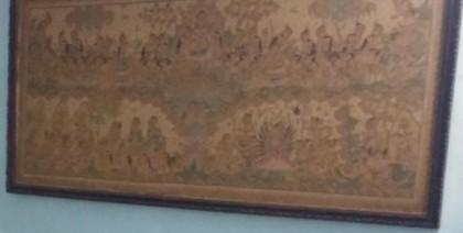 Lukisan Bali antik, panjang
