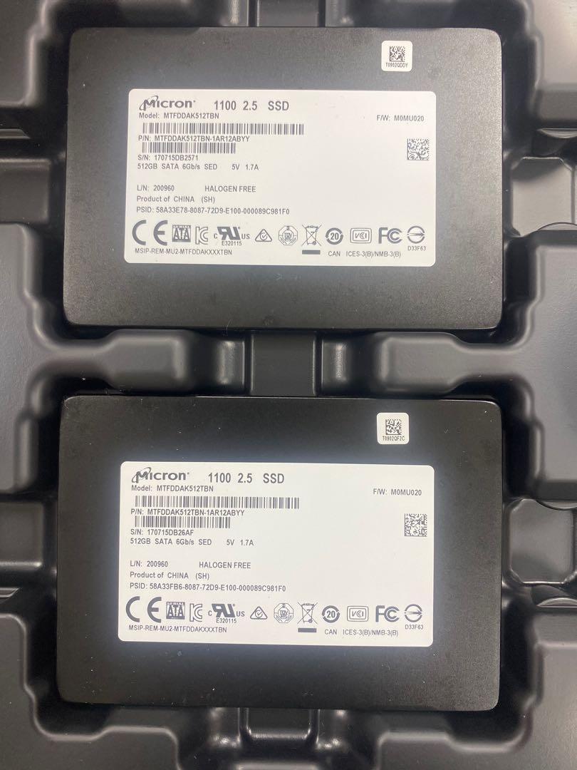 🔥降🔥美光MICRON 固態硬碟SSD 2.5in TLC