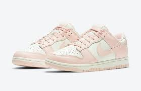 Nike Dunk Low Orange Pearl / Artic Pink