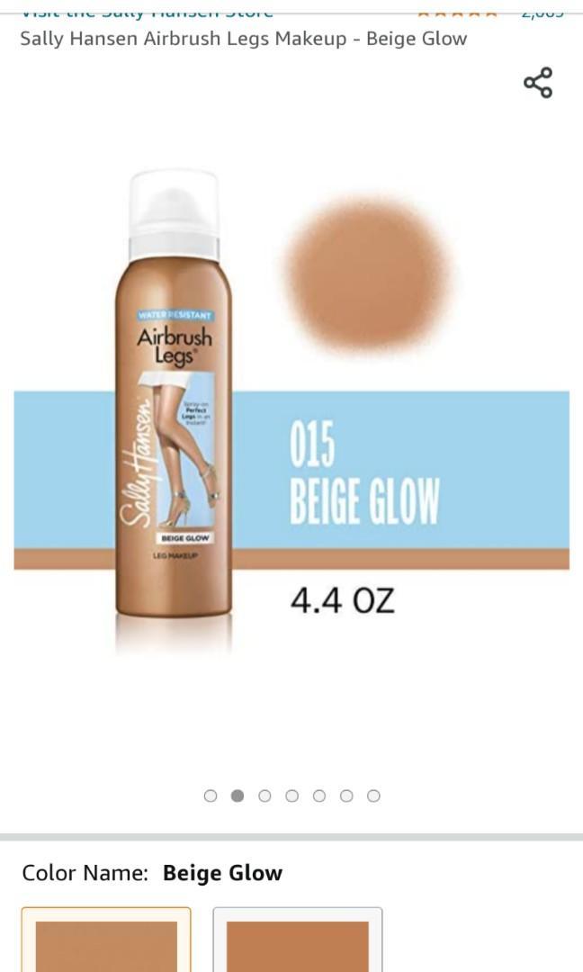 Sally Hansen Airbrush Legs Beige Glow 4.4 Ounce