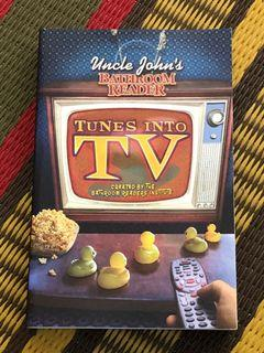 Uncle John's bathroom reader tunes into TV soft cover book