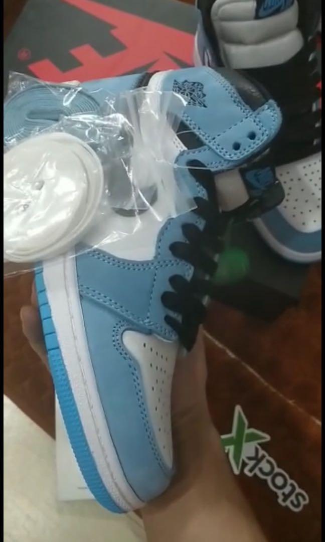 University blue Jordan 1