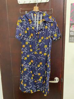 古著 鳥樹 vintage 可愛洋裝