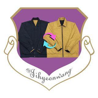 特品 SINA COVA 船長 雙面穿 古著外套 兩面穿 長袖上衣 素面 素色 古著 Vintage @下課來玩吧