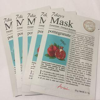ARIUL Sheetmask Pomegranate