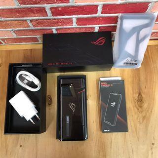 Asus Rog 2 8/128GB Black Fullset original Resmi TAM