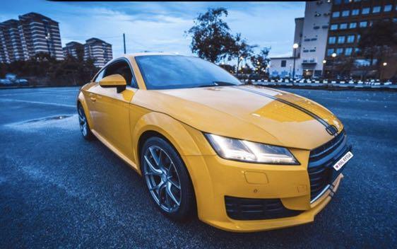 Audi TT 2.0 For Rent