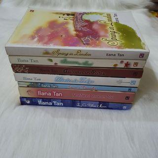 (Bahasa) Set 7 Novel Ilana Tan cover lama