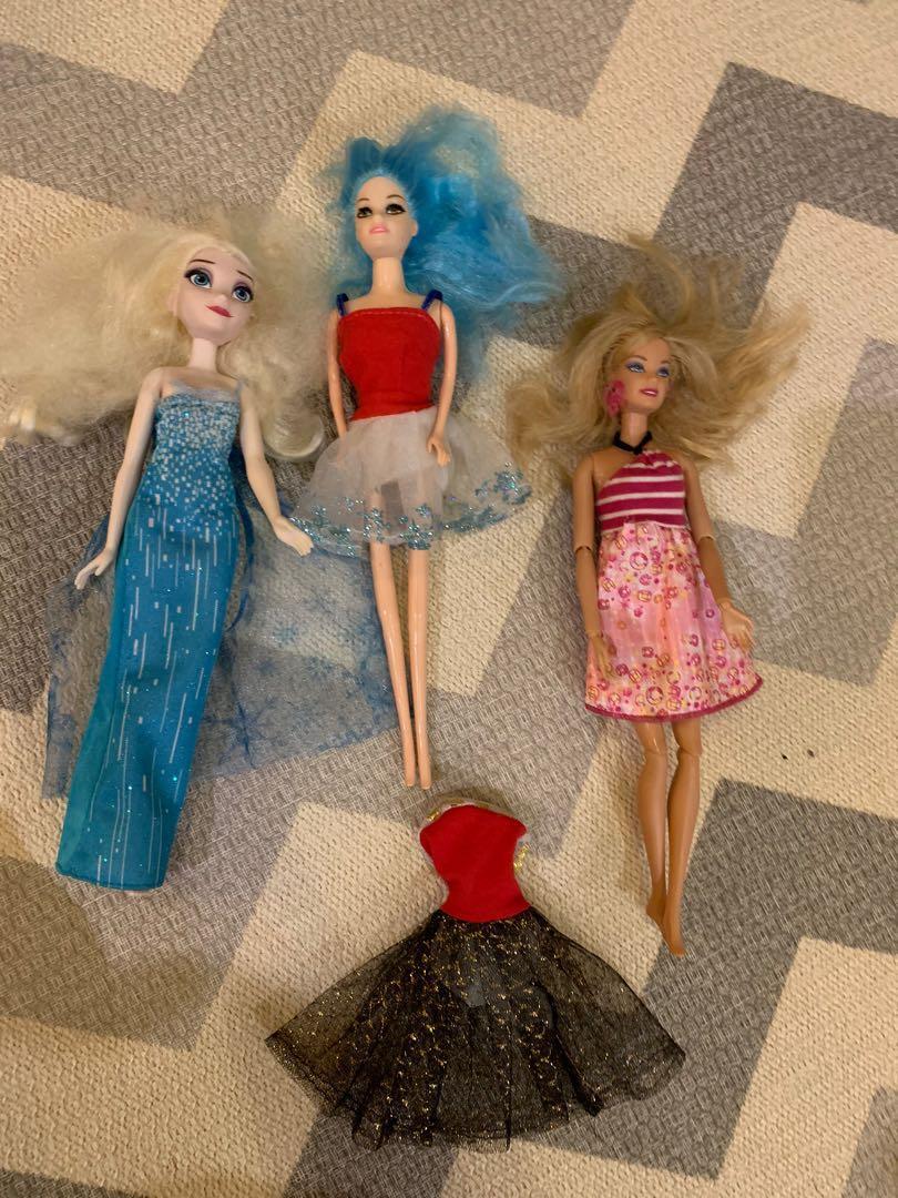 Barbie dan Elsa