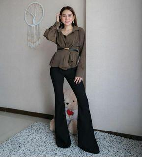 Basic by misca cutbray pants