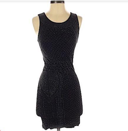 BEBE (Size Sm) LITTLE BLACK COCKTAIL DRESS