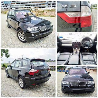 BMW X3 2.5AT 2008