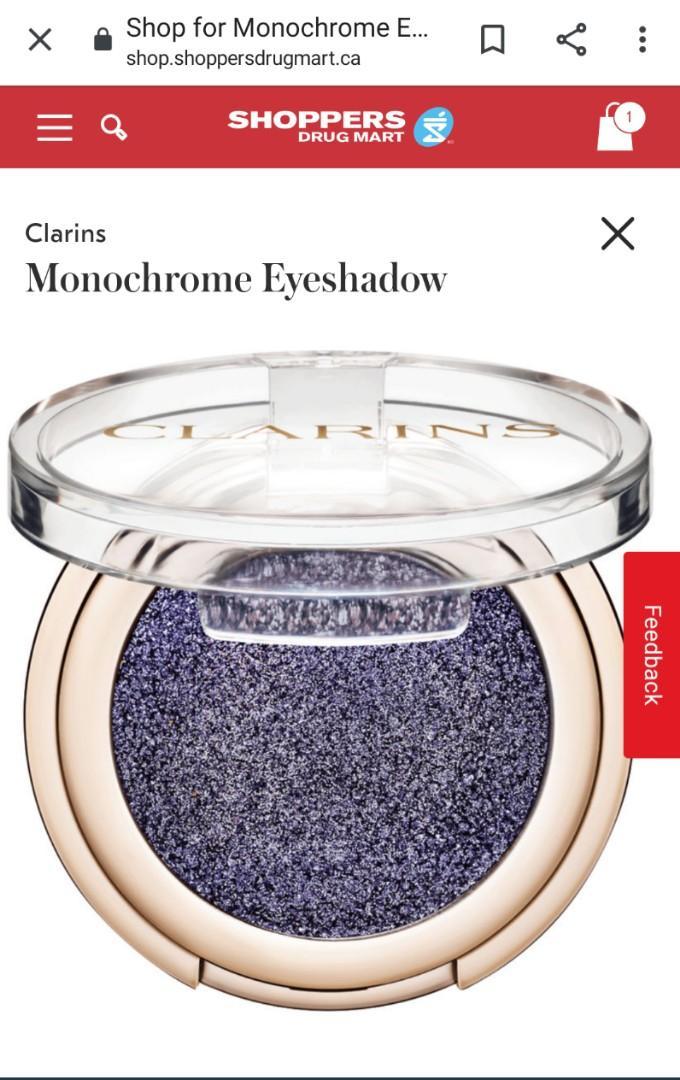 Clarins Ombre Sparkle Powder Eyeshadow 1,5 gr. - 103 Blue Lagoon