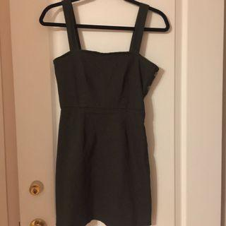 Army Green Forever 21 Dress- Size S