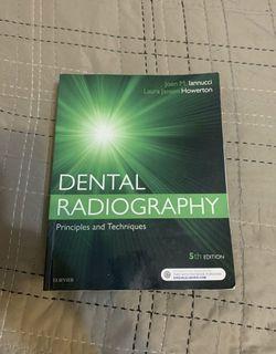 Dental radiography principles & techniques Ed 5