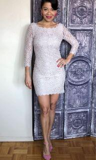 DVF Lace Dress