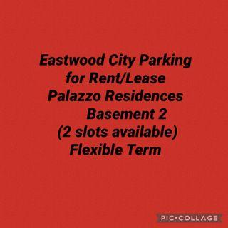 Eastwood City Parking for Rent