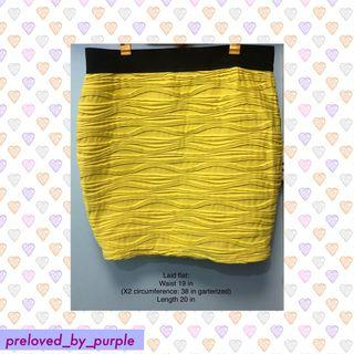 Forever21• Skirt - Yellow Plus Size 2XL
