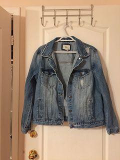 Forever 21 Denim Jacket- Size L