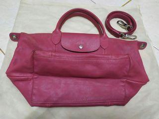 Longchamp cuir authentic