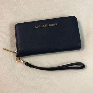 Michael Kors - Navy Blue Wristlet