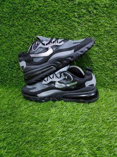 SALE (Jual BU) Nike Airmax 270 React Winter Edition Silver Black VNDS