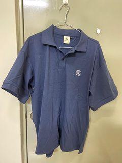 深藍polo衫