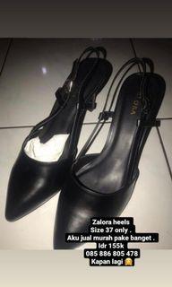 Zalora Black Heels
