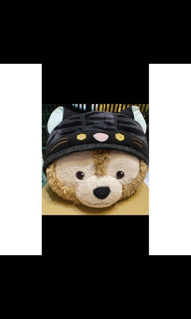 出清 絕版品 日本迪士尼 2014達菲 萬聖節抱枕