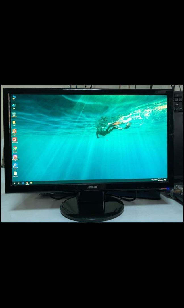 已售出 ASUS 華碩 VH232S 23吋寬螢幕液晶顯示器