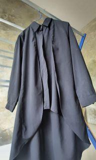 Black top hijab