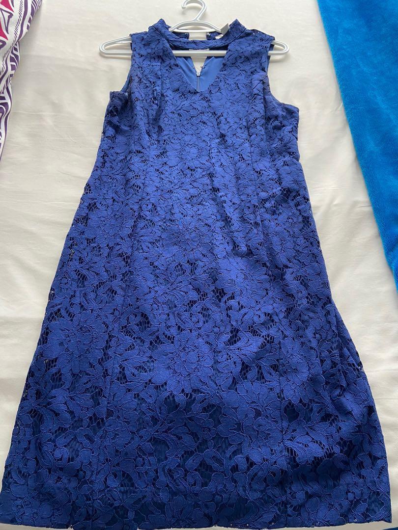 Blue formal/party wear