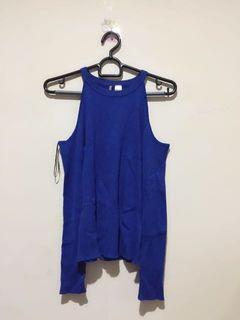 H&M Blue Knit Top
